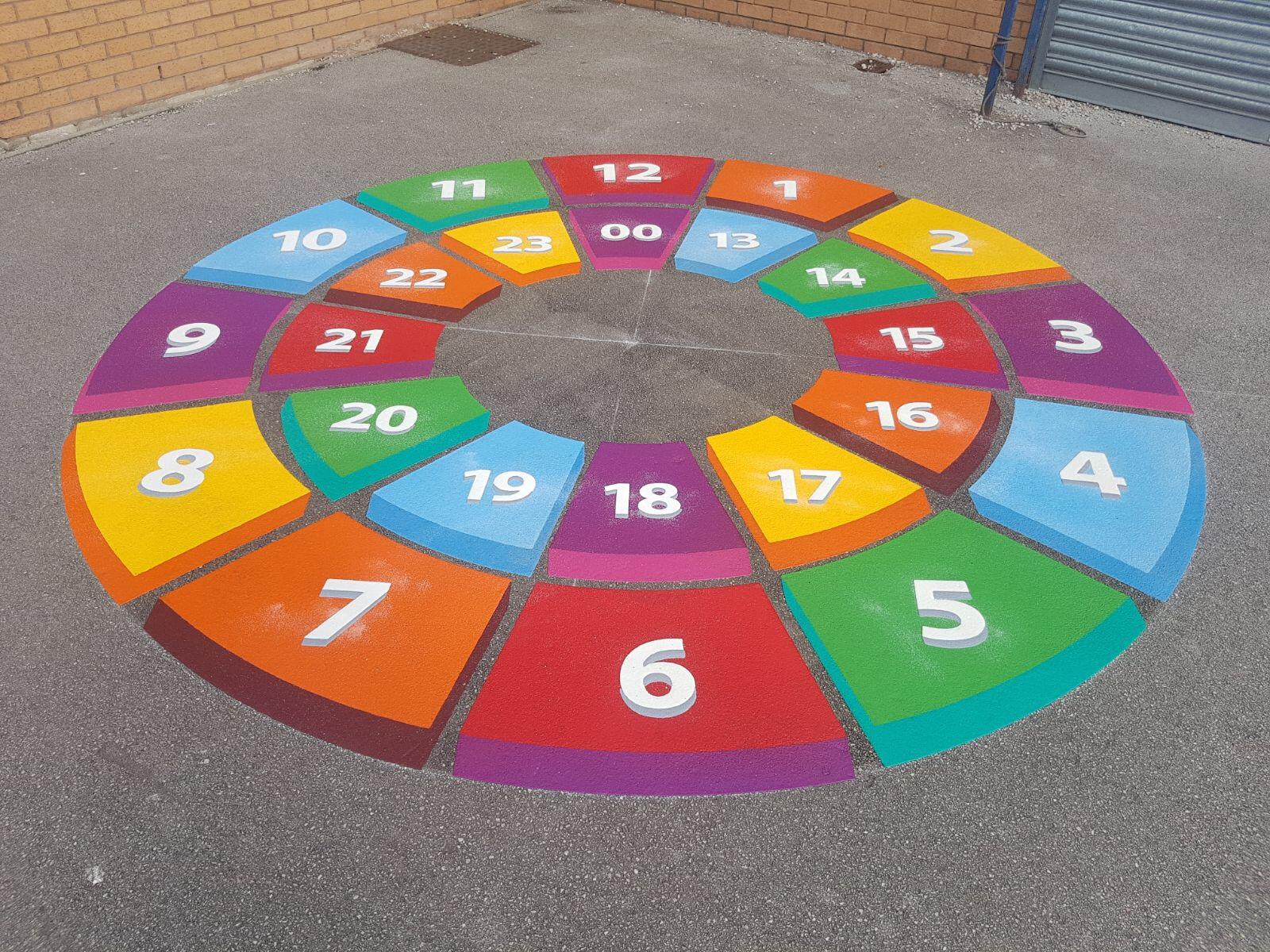 3D Playground Markings