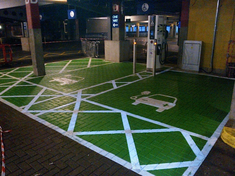 Not just playground markings – Carparks and corporate
