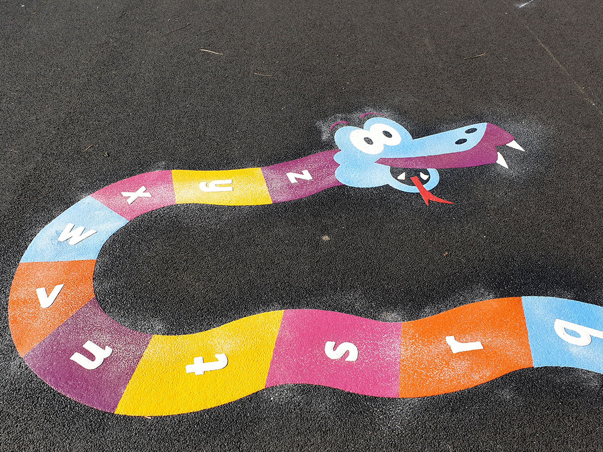 Letter Games Playground Marking Gallery Images
