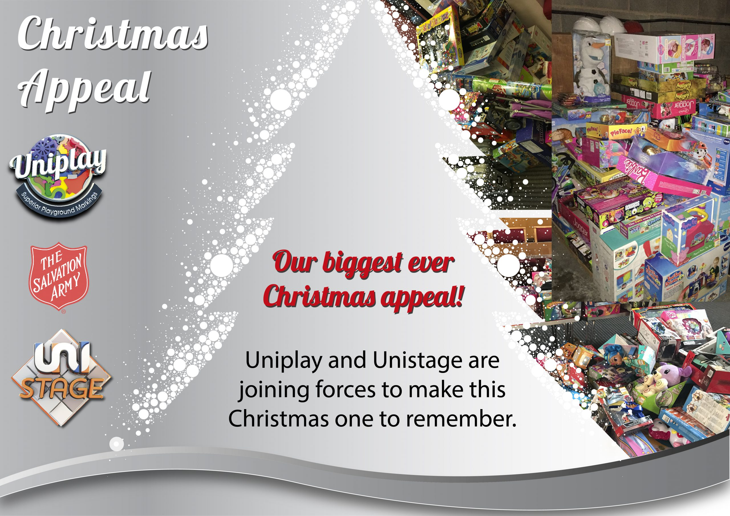 Our BIGGEST Christmas Appeal yet…..