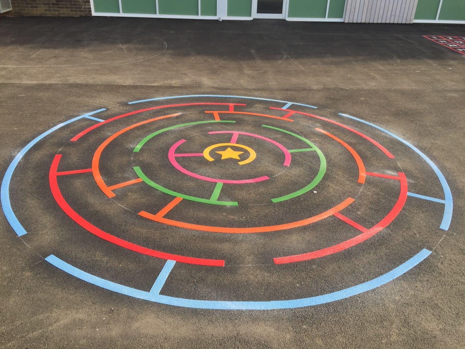 Mazes Playground Marking Gallery Images
