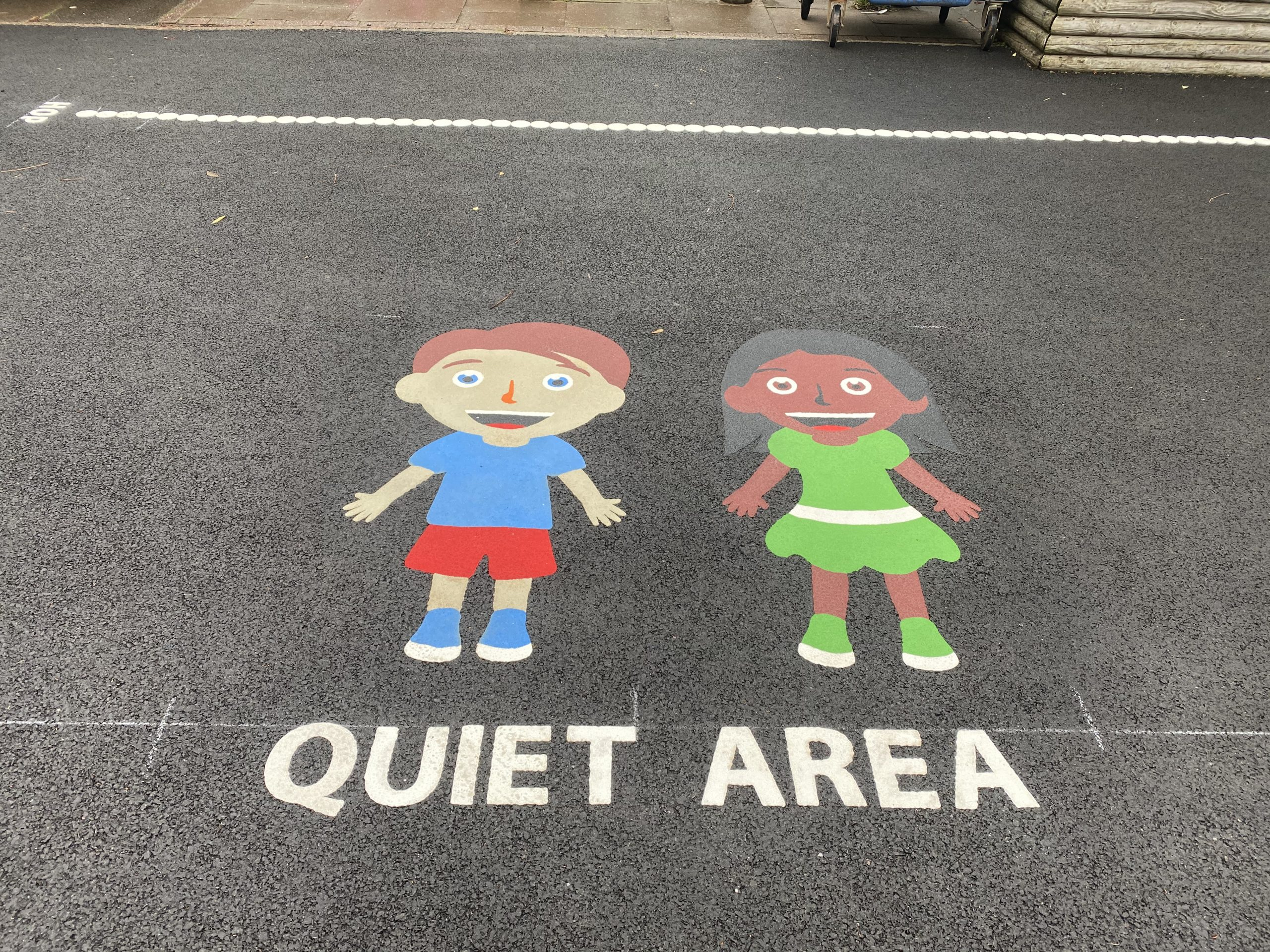 Utilising a small playground with creative designs