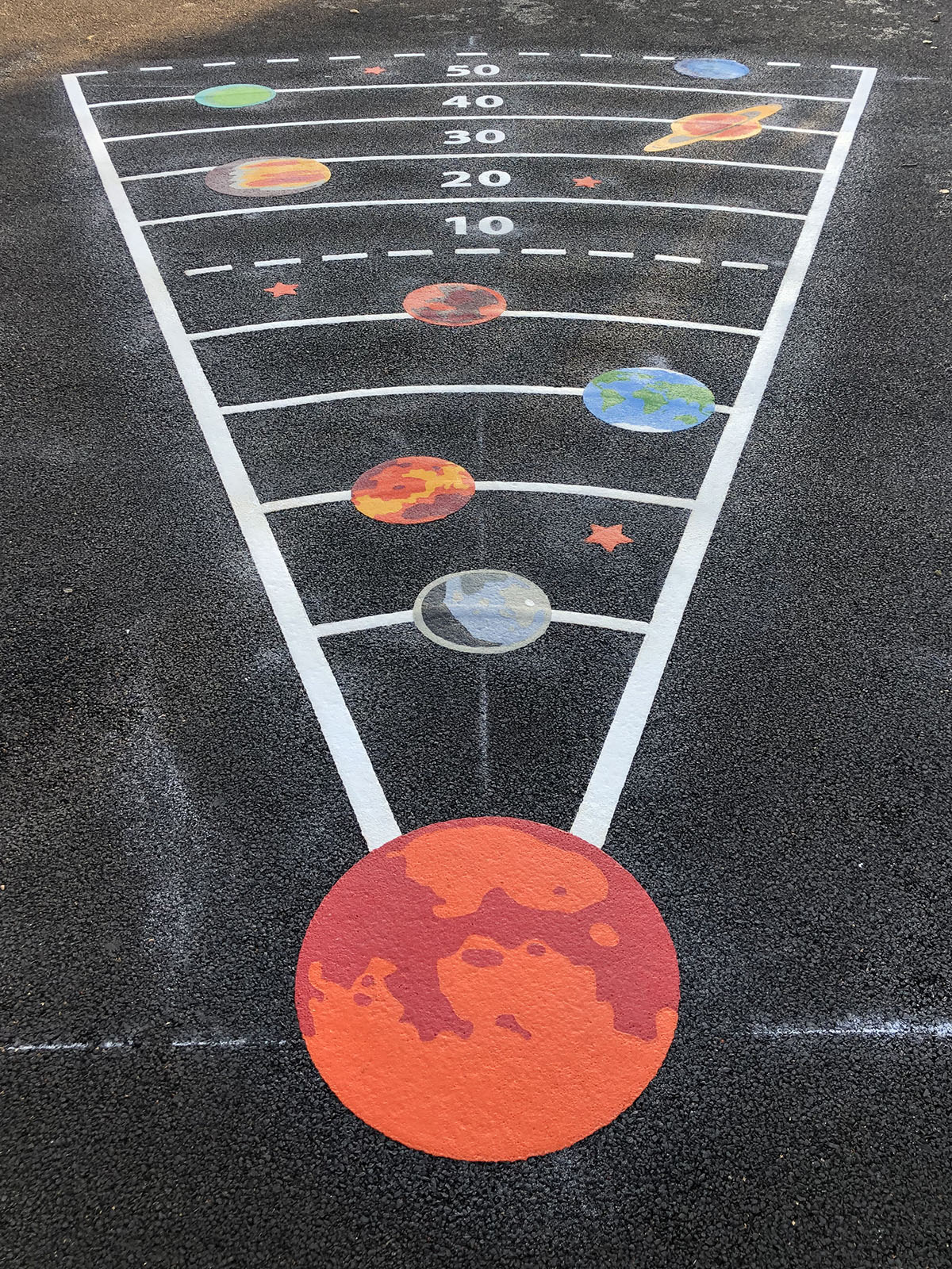 Targets Playground Marking Gallery Images