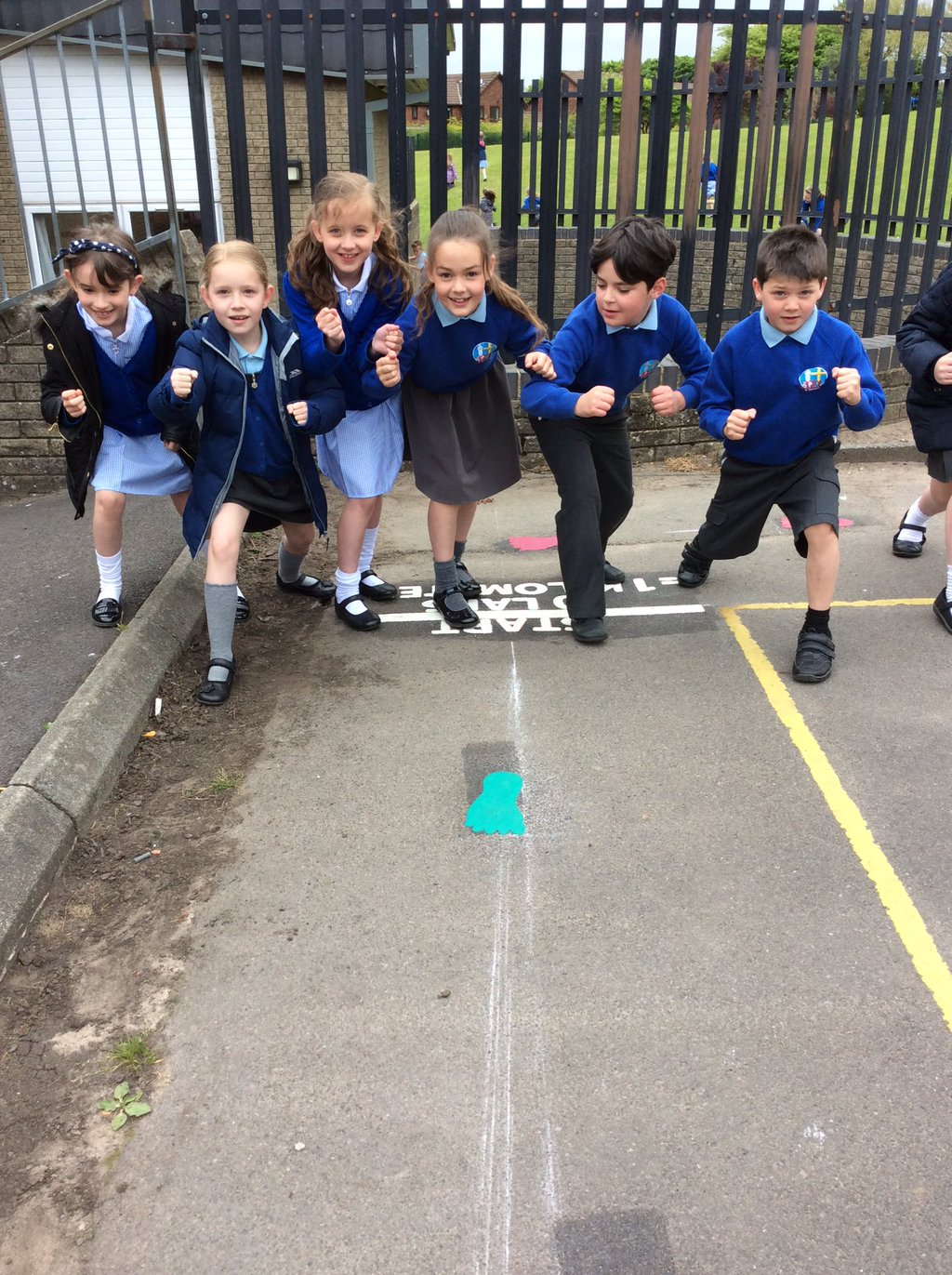 St Barnabas get active with 1k a day