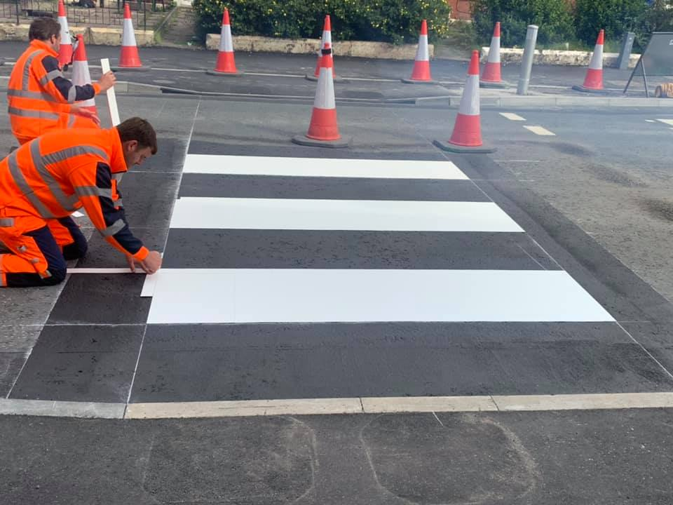 Highway Thermoplastic Markings vs. Line Paint