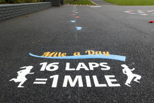 Encouraging Physical Activity with the Daily Mile