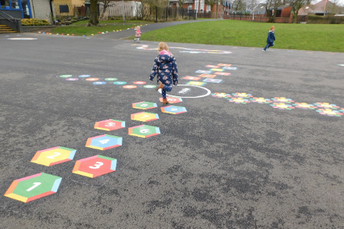 How a creative playground can boost mental health for pupils