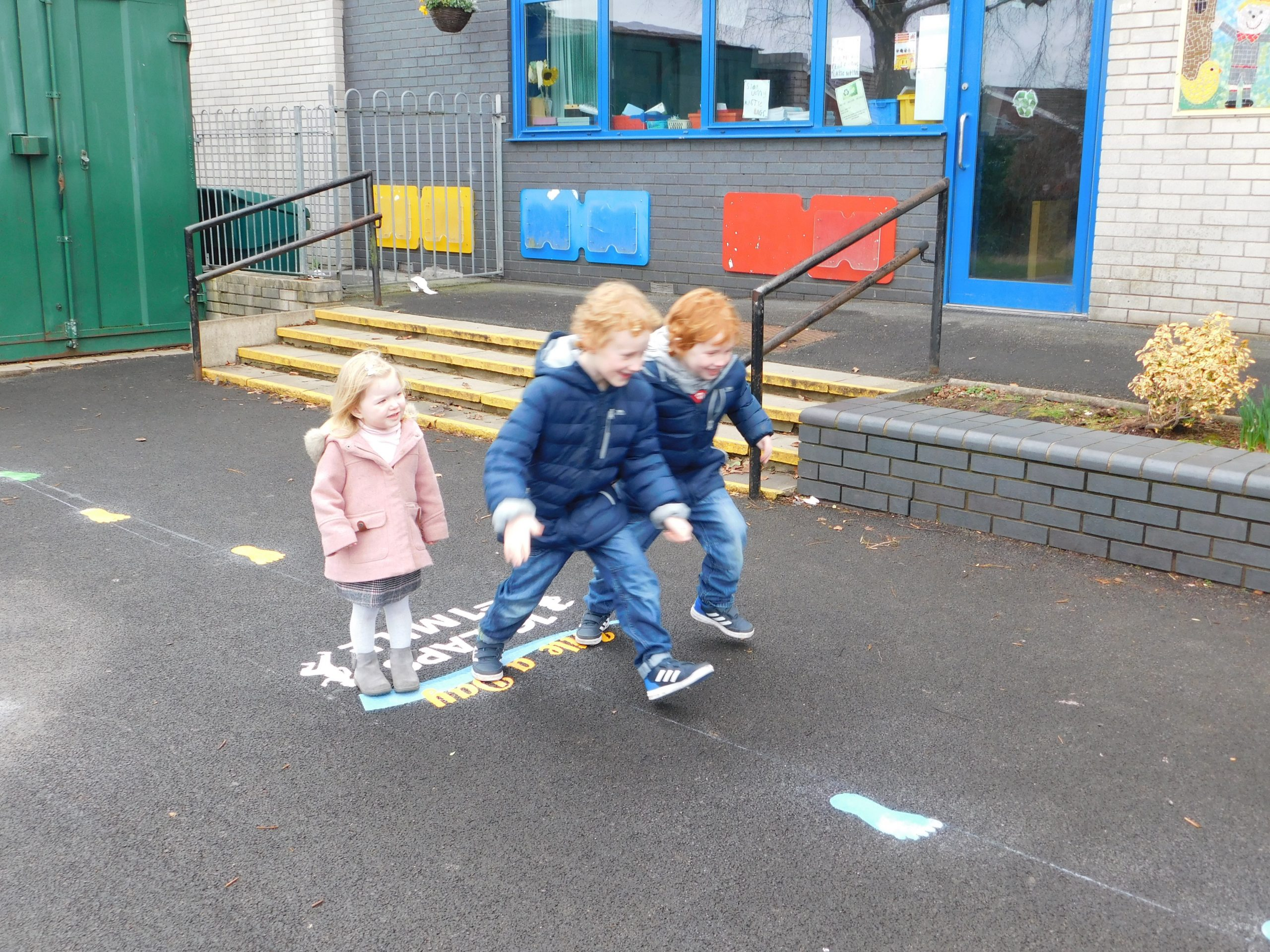Creating a playground for pupils of all ages